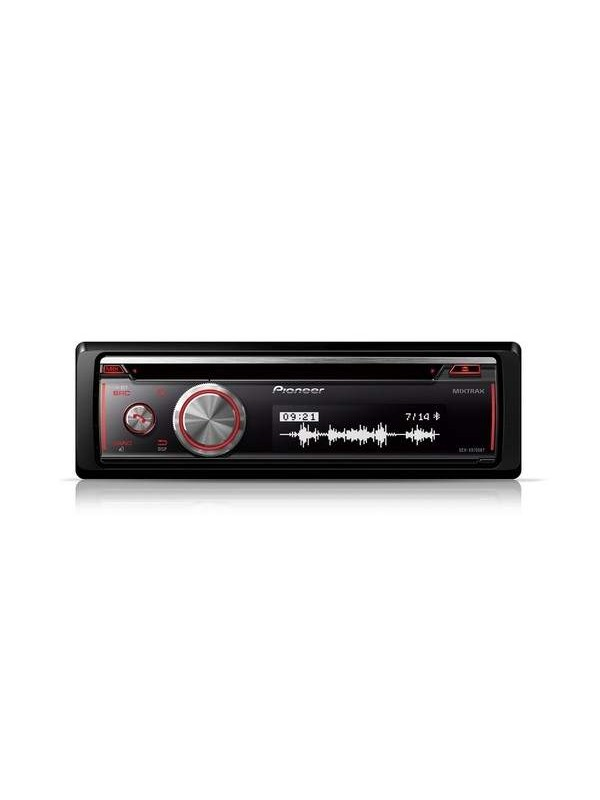Pioneer dehx8700bt car stereo with bluetooth cd usb and auxin 7