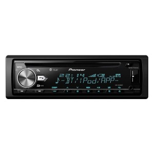 Pioneer DEH-X5900BT - CD Tuner with Bluetooth, USB and Spotify. Connects to Apple iOS & Android devices