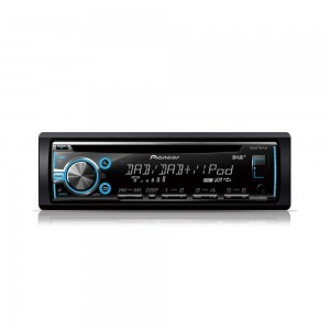 Pioneer DEH-X6800DAB - CD, MP3, USB Stereo with iPod/iPhone DAB Ready RDS