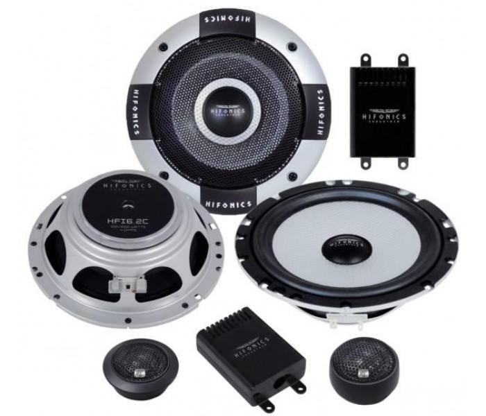 "Hifonics HFi-6.2C - 6.5"" Industria series shallow mount component speakers"