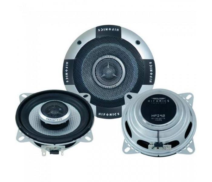 "Hifonics HFI-42 - 4"" 120 watt shallow mount coaxil speakers"