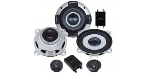 "Hifonics HFI5.2C - 5.25"" Industria series shallow mount component speakers"