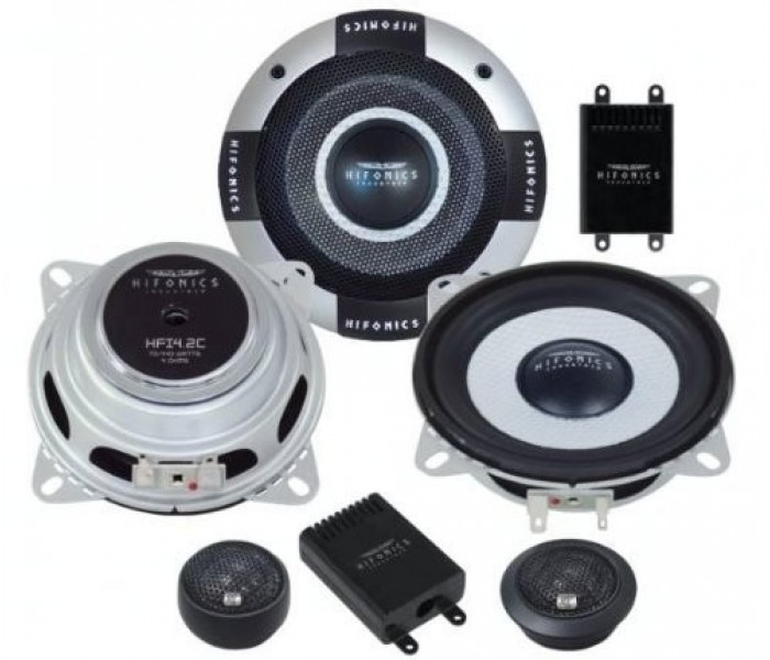 "Hifonics HFI4.2C - 4"" Industria series shallow mount component speakers"