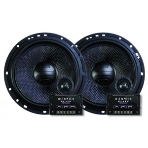 "Elite Hifonics 6.5"" Comonent Car Audio High Quality 17cm Speakers"