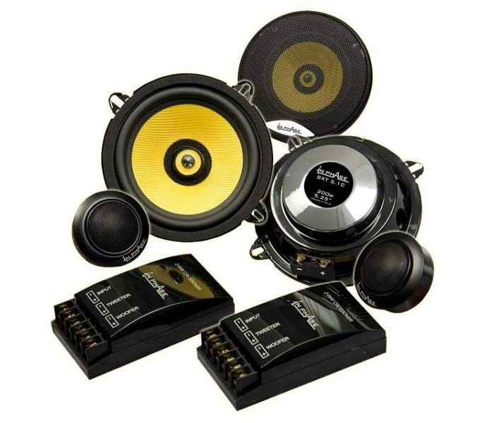 In Phase SXT5.1C 200W 13cm Component Speakers