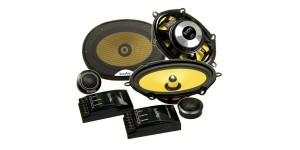 "In Phase SXT57.1C 220W 5x7"" Component Speakers"