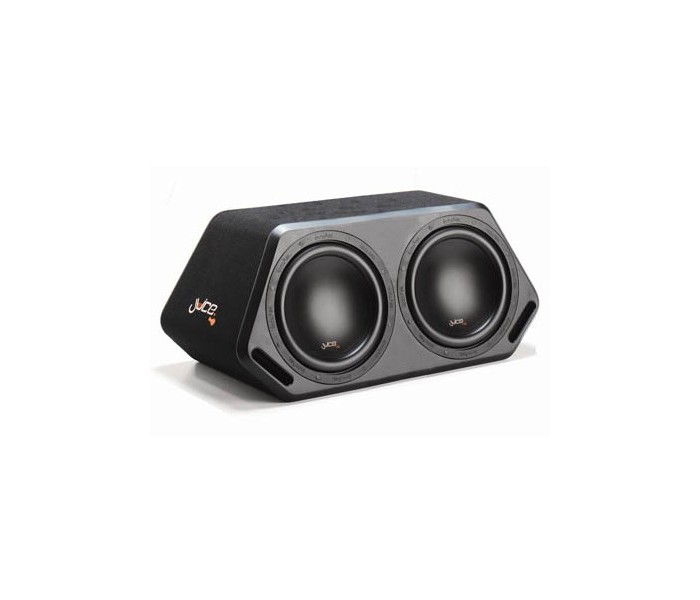 "Juice D212 2400W Double 12"" Active Subwoofer In Custom Enclosure"