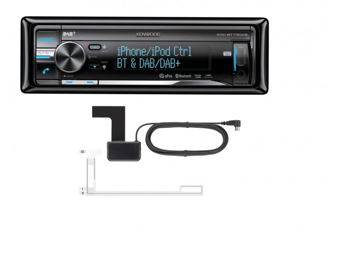 Kenwood KDC-BT73DAB - CD/MP3/USB DAB Car Tuner
