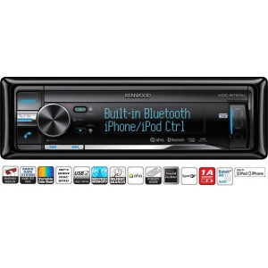 Kenwood KDC-BT53U Bluetooth car stereo ipod full control USb and AUX input