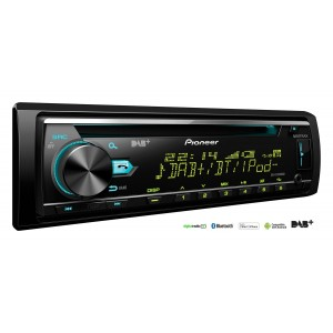 Pioneer DEH-X7800DAB - CD Tuner with Bluetooth, USB, DAB/DAB+ and Spotify