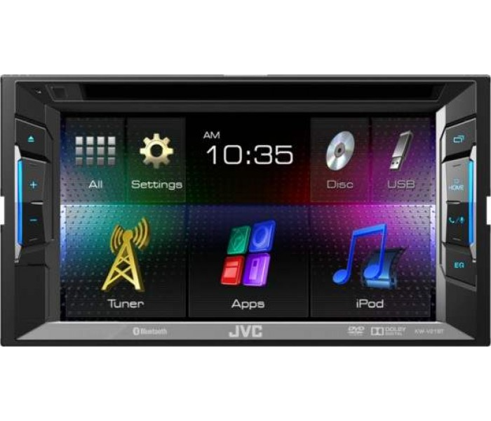 "JVC KW-V215DBT - 6.2"" Double DIN DAB+/CD/DVD/USB App Link Mode with Bluetooth"
