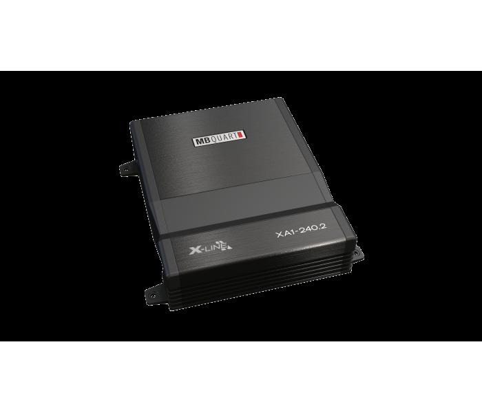 MB Quart XA1-240.2 240W 2-Channel X-Line Series Class SQ A/B Amplifier