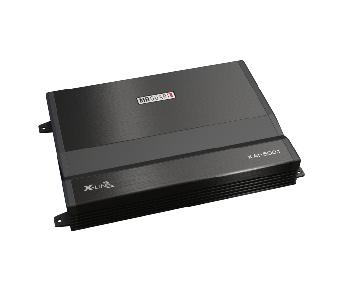 MB Quart XA1-500.1 500W Monoblock X-Line Series Class SQ A/B Amplifier