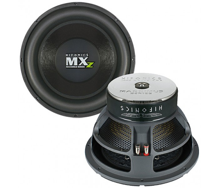 HIFONICS MAXXIMUS MXZ12D4 SUBWOOFER 2000 WATTS