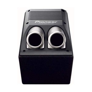Pioneer TS-WX206A 150W Dandpass Active Subwoofer In Custom Enclosure