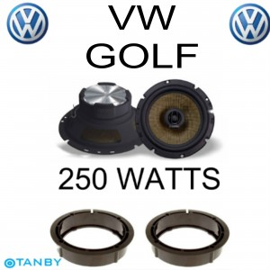 In Phase XTC17.2  VW GOLF  SPEAKER UPGRADE