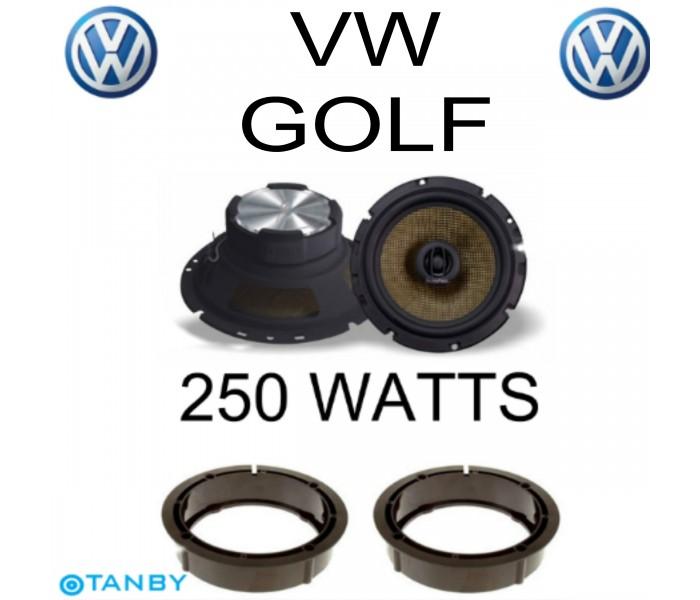 In Phase XTC17.2  VW GOLF  SPEAKER UPGRADE