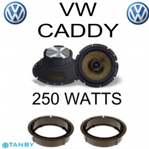 In Phase XTC17.2  VW CADDY SPEAKER UPGRADE