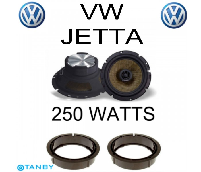 In Phase XTC17.2  VW JETTA SPEAKER UPGRADE