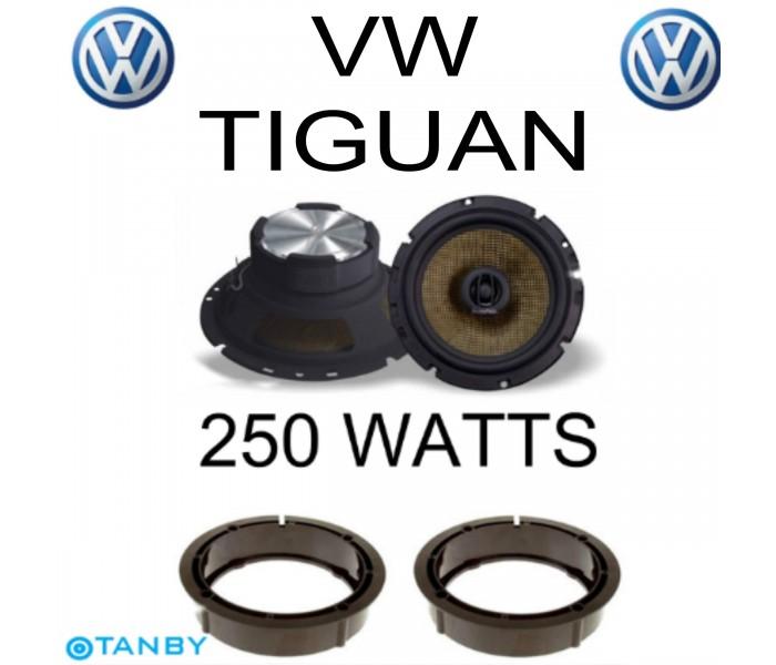In Phase XTC17.2  VW TIGUAN SPEAKER UPGRADE