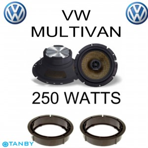 In Phase XTC17.2  VW MULTIVAN SPEAKER UPGRADE