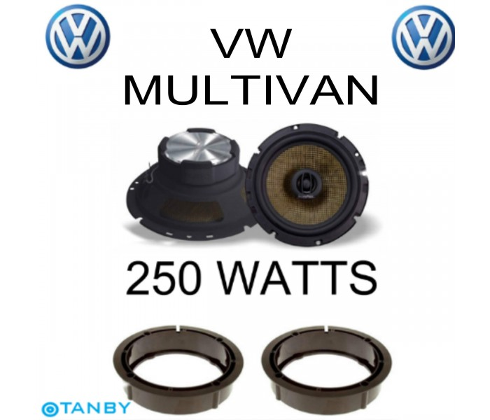 In Phase XTC17.2  VW MULTIVAN SPEAKER UPGRADE