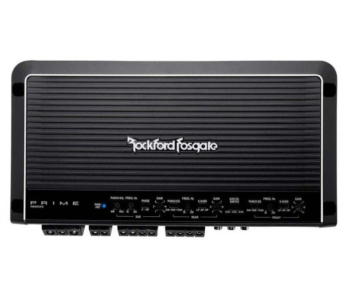 Rockford Fosgate Prime R600X5 - 5 Channel Amplifier