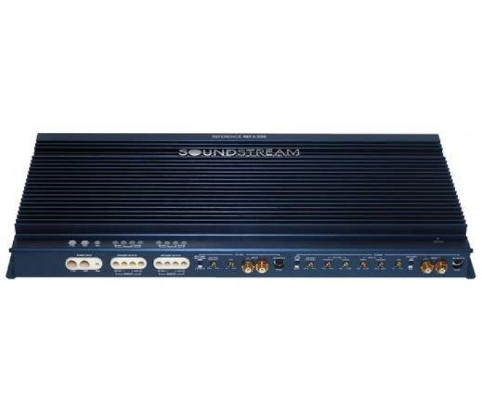 Soundstream REF1.1000 - 1000W RMS, Reference Series 1-Channel Monoblock Amplifier Class G