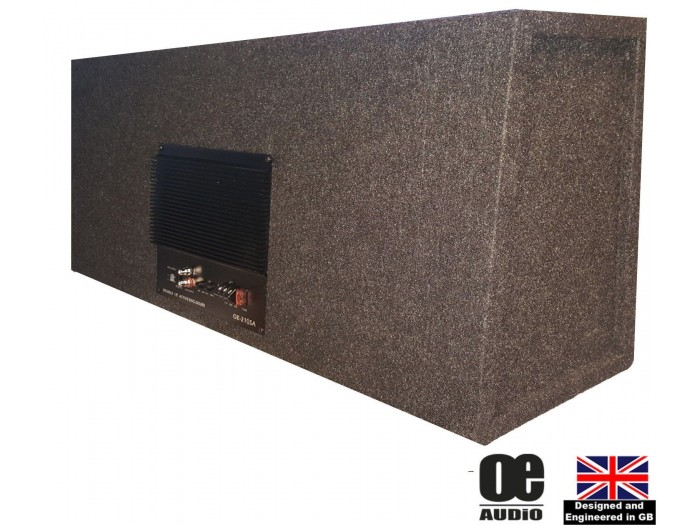 "OE Audio OE-212SA 12"" 2800W Amplified Shallow Box"