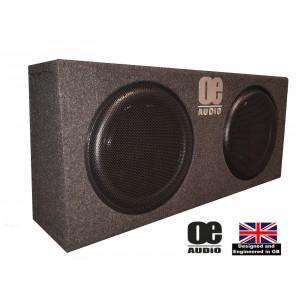 "OE Audio OE-212SA 12"" 2800W Amplified Shallow Box"