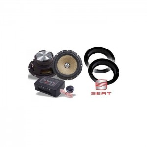 Seat Ibiza In Phase XTC6CX Speaker Upgrade Package