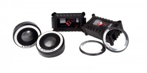 "Rockford Fosgate Power T2T-S - 1"" Aluminum Dome Tweeter Kit"