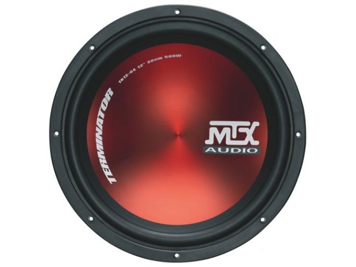 "MTX TR12-04 - Terminator Series12"" Subwoofer 600 Watts (4-ohm)"