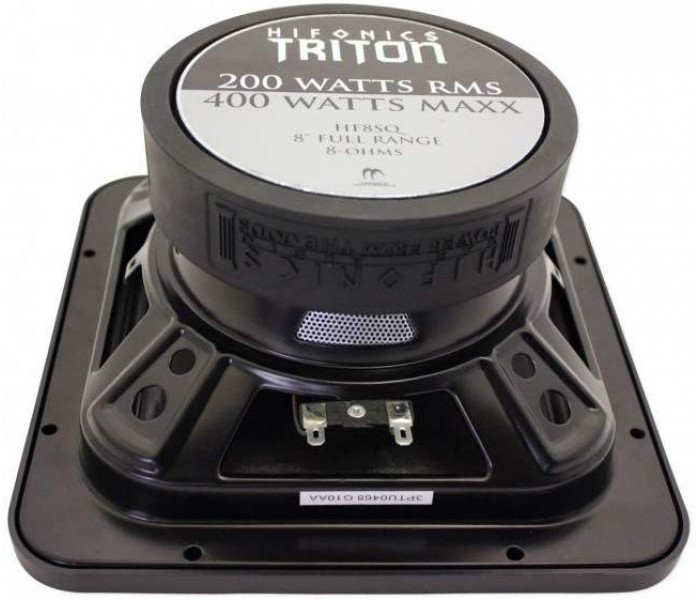 "Hifonics HF8SQ - 8"" Triton Series Full Range Square Car Speaker"